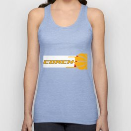 Costume For Basketball Coach. Gift Ideas Unisex Tank Top
