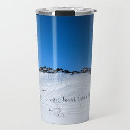 Winter mountains Travel Mug