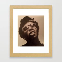 """Pop a molly"" Framed Art Print"
