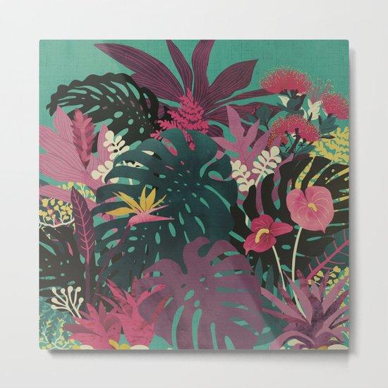 Tropical Tendencies Metal Print