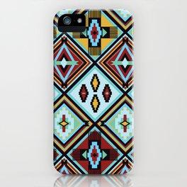NATIVE AMERICAN PRINT iPhone Case