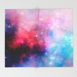 Intertstellar cloud Throw Blanket