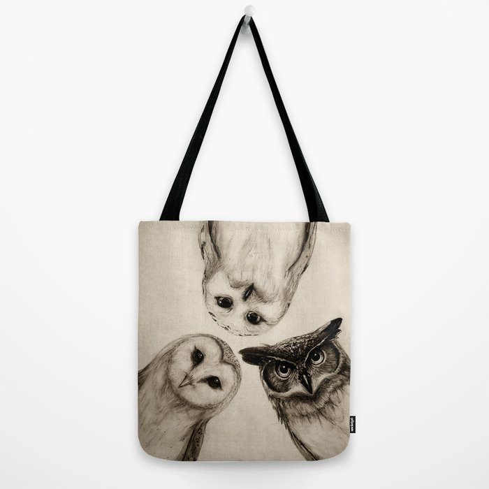 The Owl's 3 Tote Bag