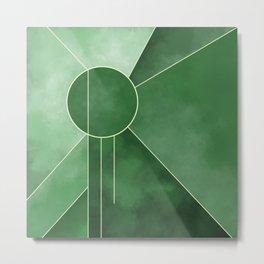 Emerald Radiance Metal Print