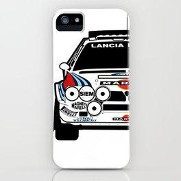 Lancia Delta S4 Group B Vector iPhone Case