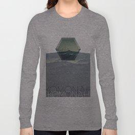 KOMONAH Font Design Long Sleeve T-shirt