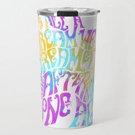 Box Of Rain (Colour) Travel Mug