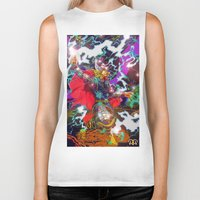 thor Biker Tanks featuring Thor by Artless Arts