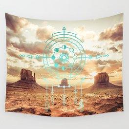 Mandala Desert Dawn Wall Tapestry