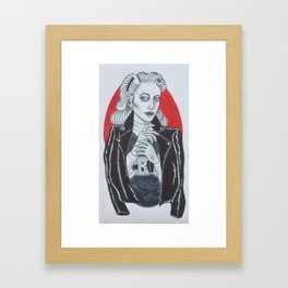 Betty Cooper // Riverdale Framed Art Print