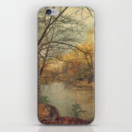 Over the River Through the Woods iPhone Skin