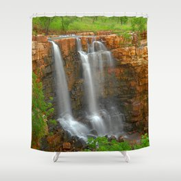 The Grotto is flowing Shower Curtain