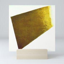 Kazimir Malevich Yellow Plane in Dissolution Mini Art Print