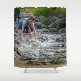 Mississippi Headwaters Fun Shower Curtain
