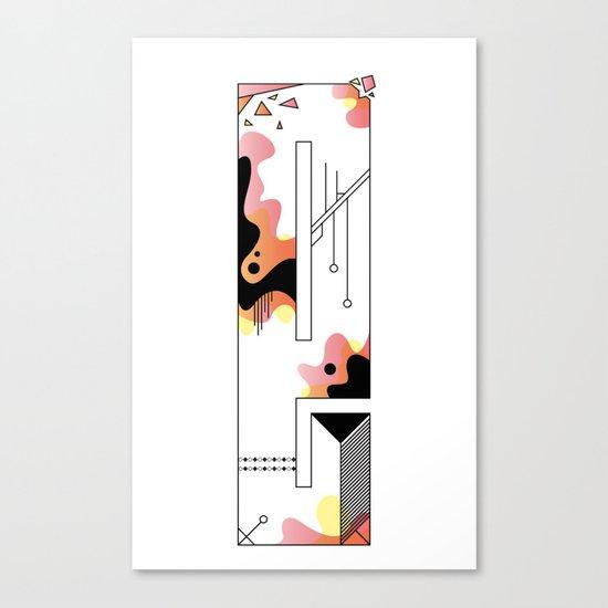 e typo 2 Canvas Print