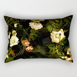 Floral Night III Rectangular Pillow