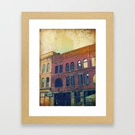 The Barrel Room Framed Art Print