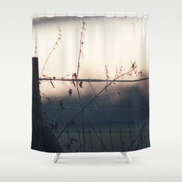 On a Wire Shower Curtain