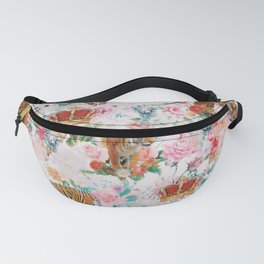 floral tigers 1 Fanny Pack