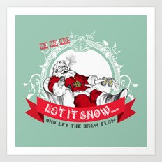 Tis the season to be Jolly Art Print