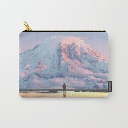 Mount Rainier Washington State Carry-All Pouch