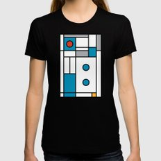 Art Too Womens Fitted Tee Black SMALL
