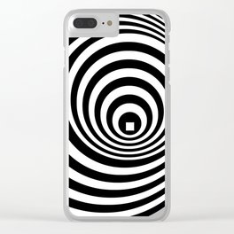 Concentric 1 Clear iPhone Case