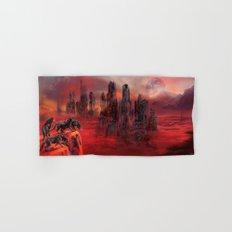 Wolves of Future Past landscape Hand & Bath Towel