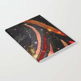 Fire Flare Notebook
