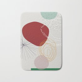 modern abstract VI Bath Mat