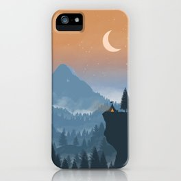 Camping spot iPhone Case