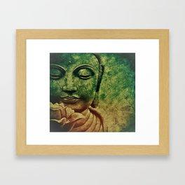 Buddha Head 2 Framed Art Print