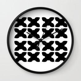 Blackwhite ornaments Design Wall Clock