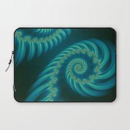 Entering the Vortex - Fractal Art Laptop Sleeve