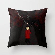 Misforautumn Throw Pillow