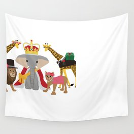 animal party Wall Tapestry