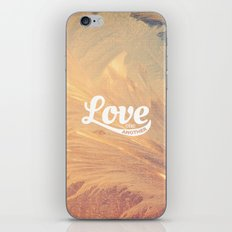 Love One Another - John 13:34 iPhone & iPod Skin