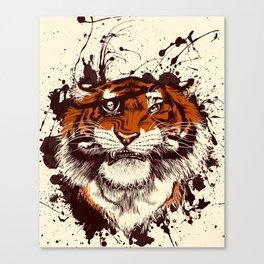 TigARRGH (Maroon and Orange) Canvas Print