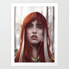 Changeling Witch Art Print