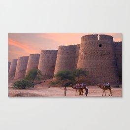 Gracious World Popular Derawar Fort Bahawalpur District Punjab Pakistan Asia Ultra HD Canvas Print