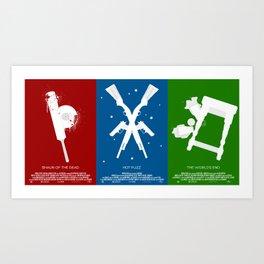 "3 Flavors Trilogy - ""The Full Flavor"" Art Print"
