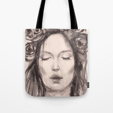 Actress Monica Bellucci - Editorial Tote Bag