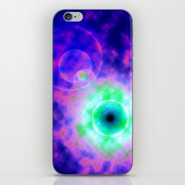 Space Eye iPhone Skin