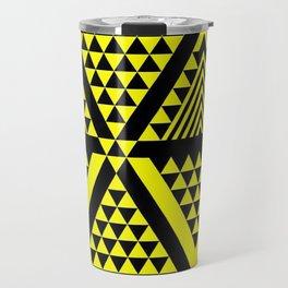 Black & Yellow Travel Mug