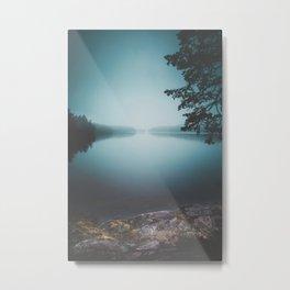 Lake insomnia Metal Print