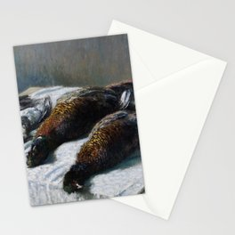 Still Life with Pheasants and Plovers Stationery Cards