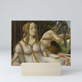 """Sandro Botticelli """"Venus and Mars"""" Venus Mini Art Print"""