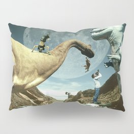 Dinosaur Road Trip Pillow Sham