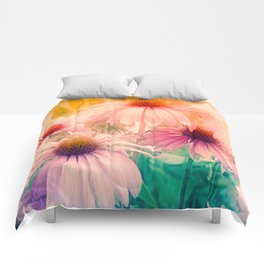 Happy Summerflowers Pastell Comforters