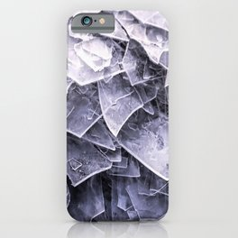 Cracked Ice Tiles In Lake Shore  iPhone Case